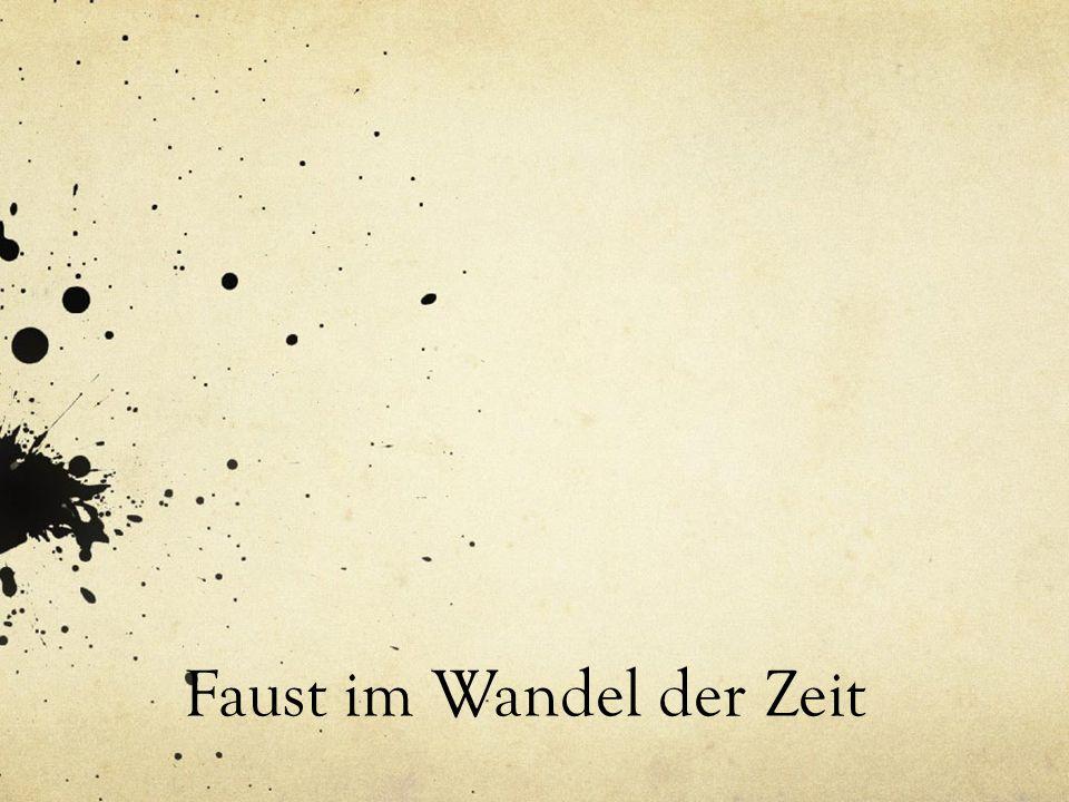 Mittelalter (1540-1580) Viele Geschichten und Legenden über Fausts schwarze Kunst und seinen Pakt mit dem Teufel entstehen