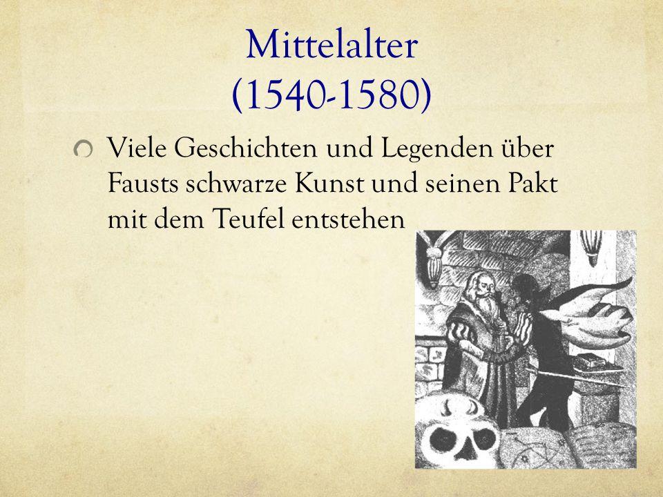 Georg, bzw.Johann Faust (1480- 1540) - Alchemist - Verfasste Horoskope für hohe Herren ( z.B.