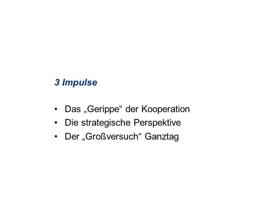Kooperation Schule und Sportverein Zuständigkeiten in der Landesregierung MSW Ref.521 Ref.323 Ref.515 LfS IM Sportabteilung LfS Ganztag Kompensatorischer Sport 4.