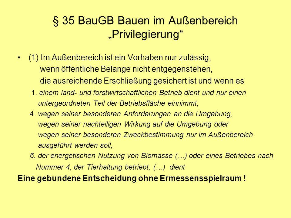 §35 BauGB (Abs.