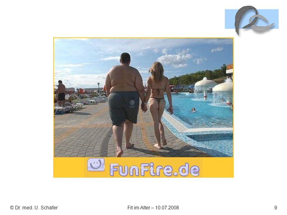 © Dr. med. U. SchäferFit im Alter – 10.07.20089
