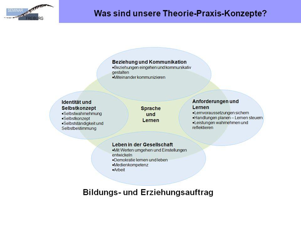 Was sind unsere Theorie-Praxis-Konzepte?