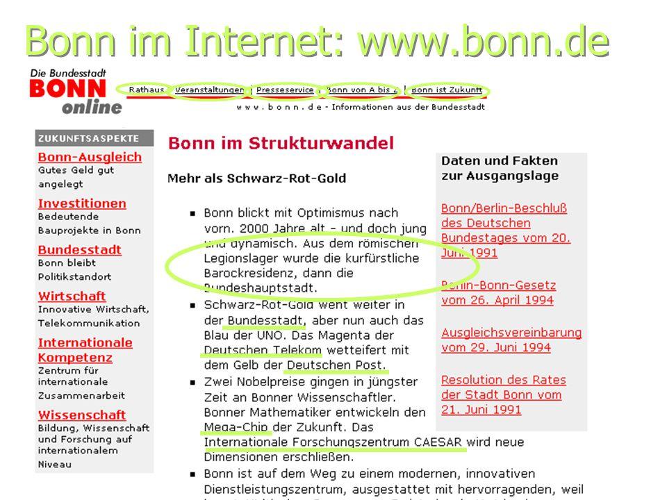 Bonn im Internet: www.bonn.de