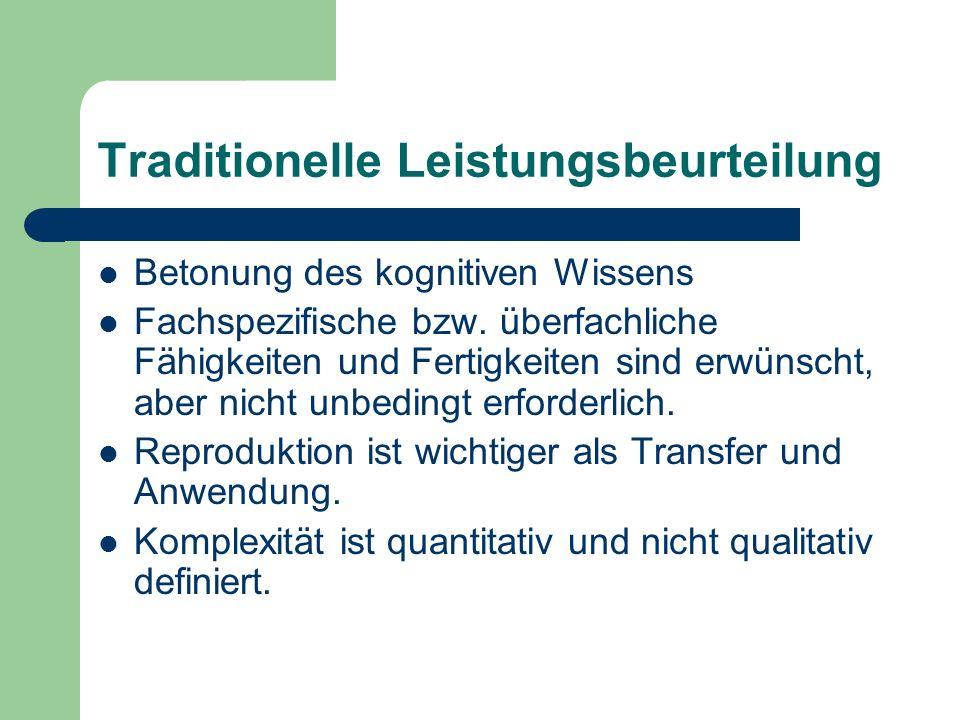 Leistungsbeurteilung im kompetenzorientierten Unterricht II Quelle: LEITFADEN ZUR LEISTUNGSBEURTEILUNG UND RÜCKMELDEKULTUR in der Vorarlberger Mittelschule.