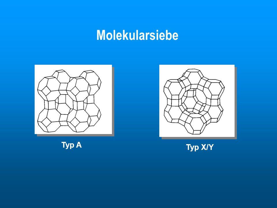 Typ A Typ X/Y Molekularsiebe