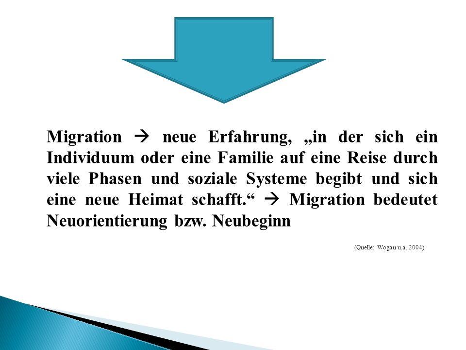 Ergebnisse: leichter Rückgang bei Personen mit afrikanischem Migrationshintergrund und EU- 25Ländern sonst nur Verbesserung größte Verbesserung: Personen mit türkischen Migrationshintergrund Verdopplung