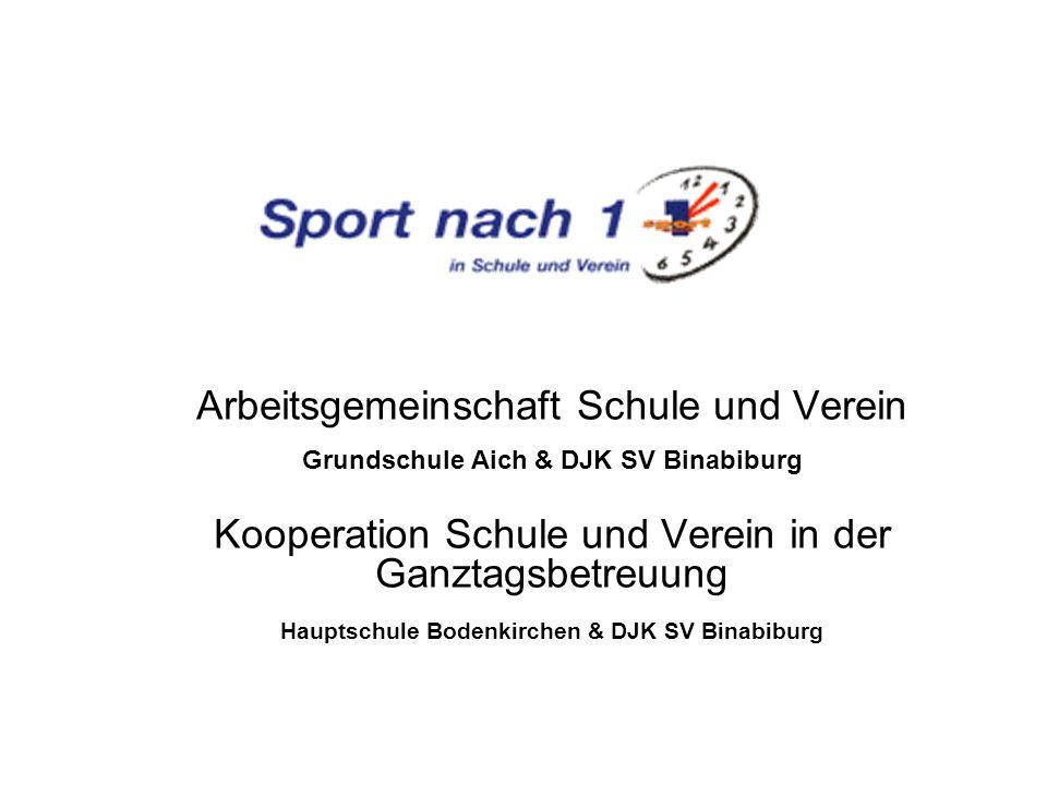 Wir wünschen allen Teilnehmern beim Sport in Schule und Verein viel Spaß