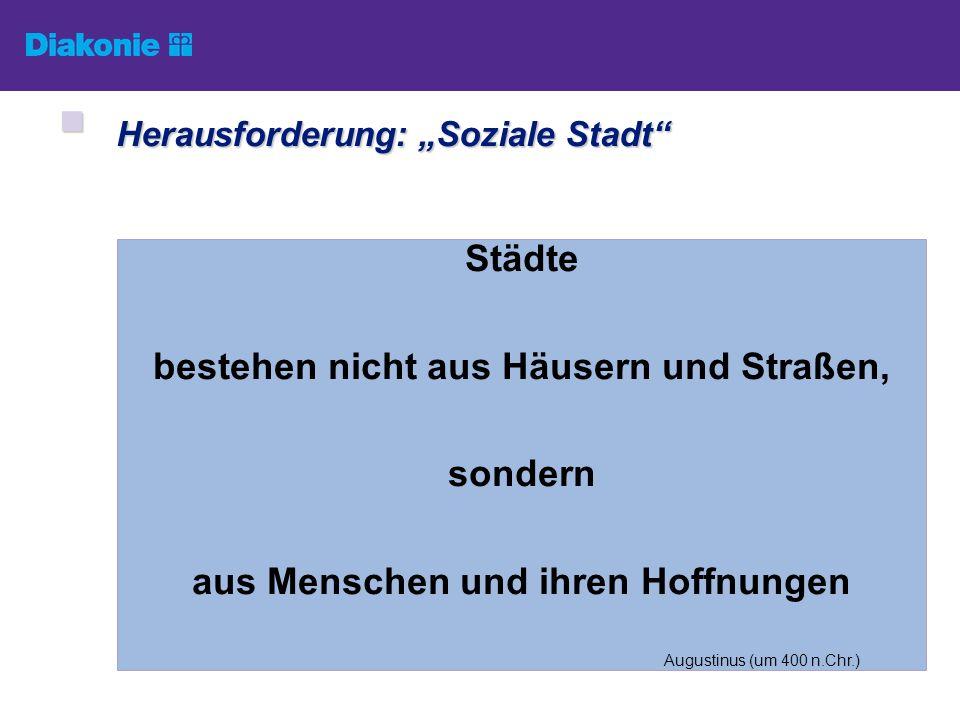 Bereitstellung bedarfsgerechter Beratung und Treffpunkte GEMEINWESEN- ARBEIT Aktivierung/Unterstützung von Selbstorganisation u.