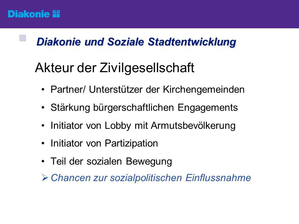 Kooperative Stadtteilentwicklung in Partnerschaft von Kommune, Wohnungswirtschaft, Freien Trägern der Sozialarbeit, Stadteilakteuren u.