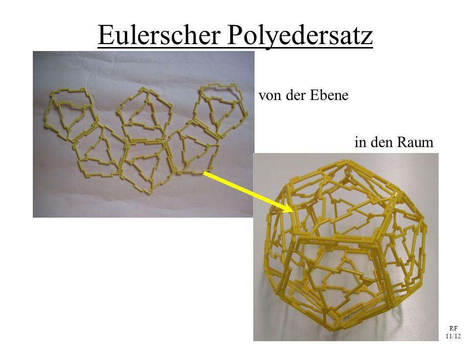 RF 11/12 Eulerscher Polyedersatz von der Ebene in den Raum