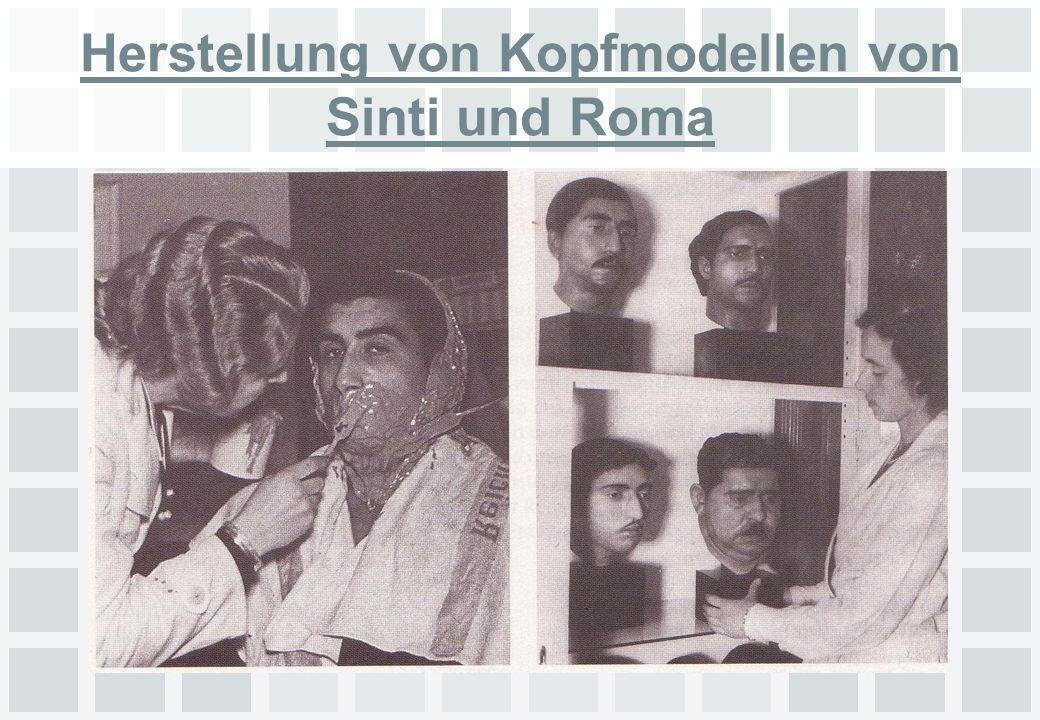 Sinti und Roma Ziel war die vollständige Vernichtung der Minderheit vom Säugling bis zum Greis Ca.