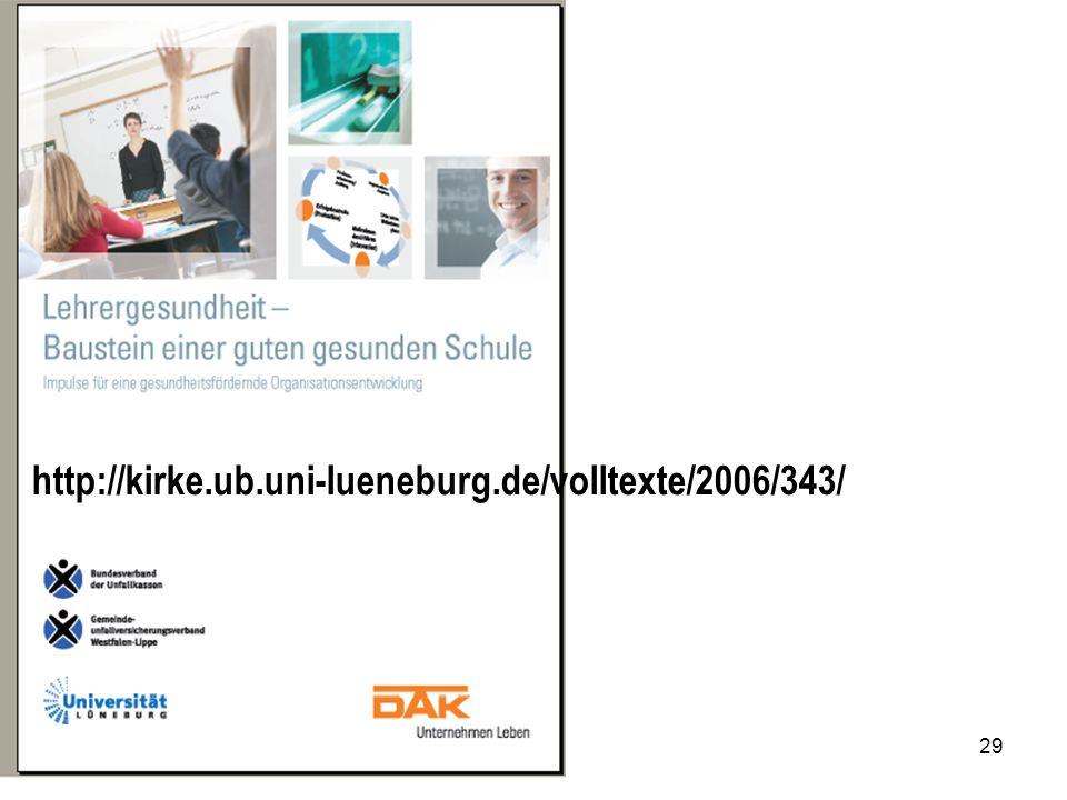 29 http://kirke.ub.uni-lueneburg.de/volltexte/2006/343/