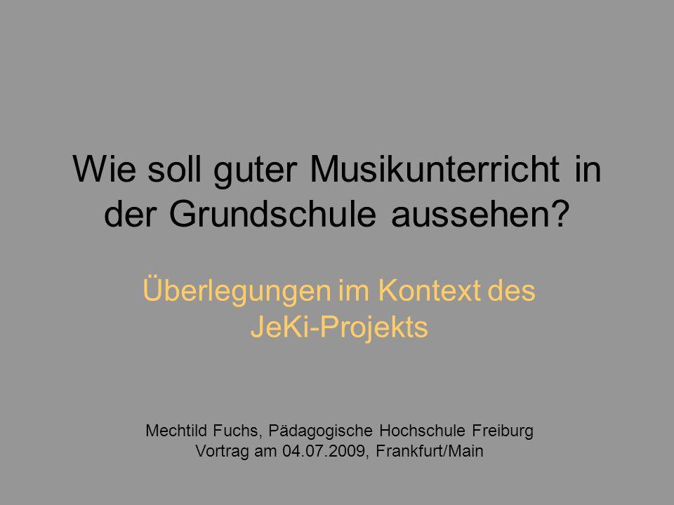 Übersicht: 1.Der aktuelle Paradigmenwechsel – Verbindung von Schulmusik und Musikschule 2.