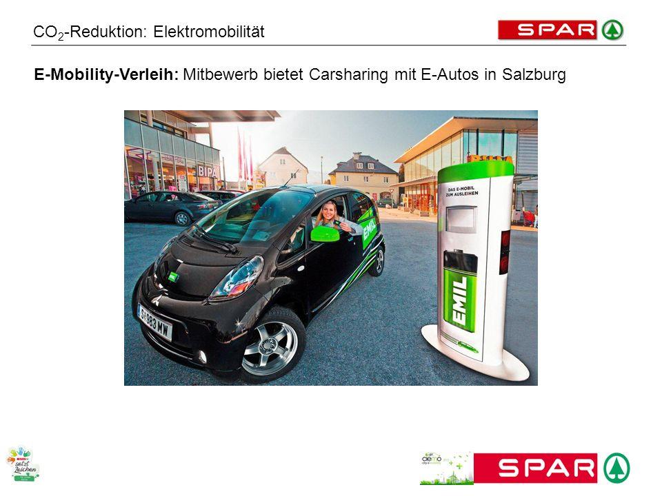 CO 2 -Reduktion: Elektromobilität E-Mobility-Verleih: Mitbewerb bietet Carsharing mit E-Autos in Salzburg