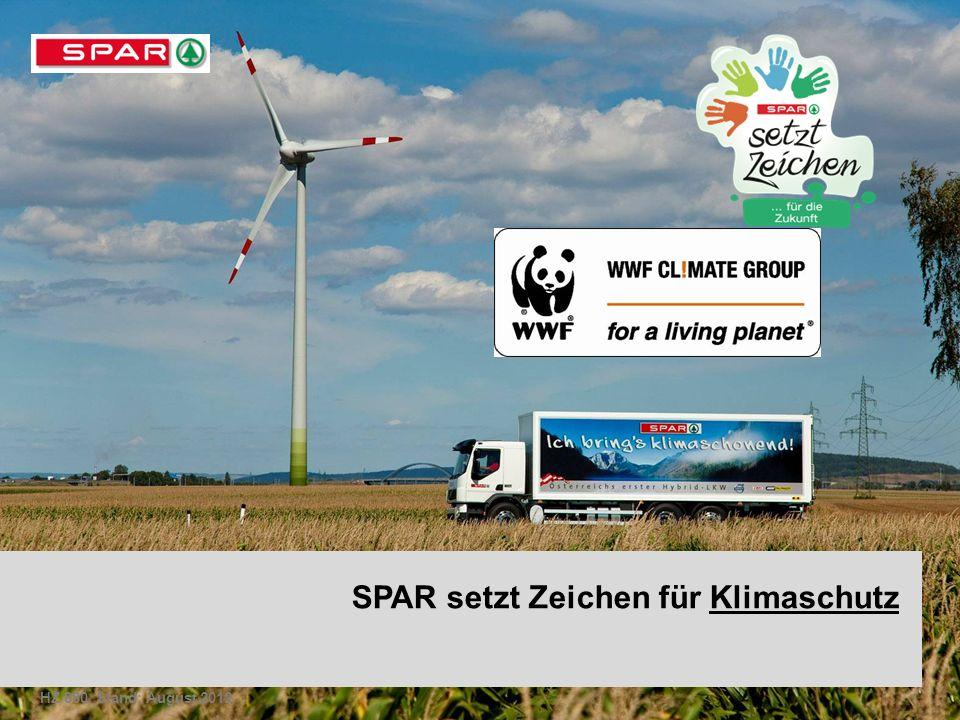 SPAR setzt Zeichen für Klimaschutz HZ 880, Stand: August 2012