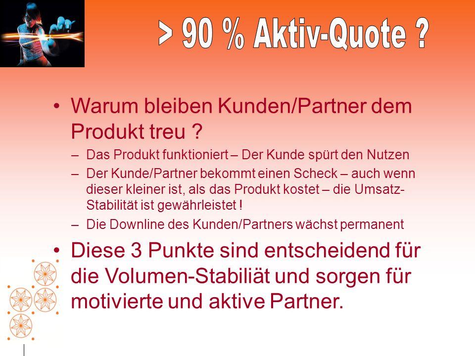 Warum bleiben Kunden/Partner dem Produkt treu .