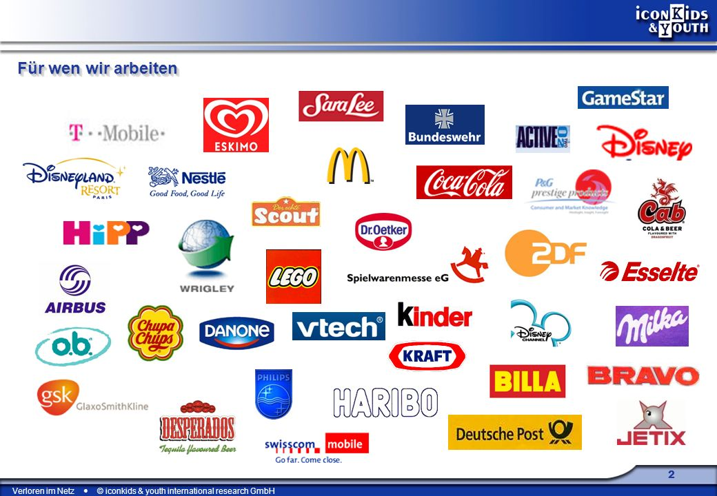 Verloren im Netz © iconkids & youth international research GmbH 23 Wo steuert unsere Gesellschaft hin, wenn sich niemand mehr auskennt.