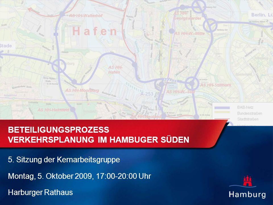 BETEILIGUNGSPROZESS VERKEHRSPLANUNG IM HAMBURGER SÜDEN 5.