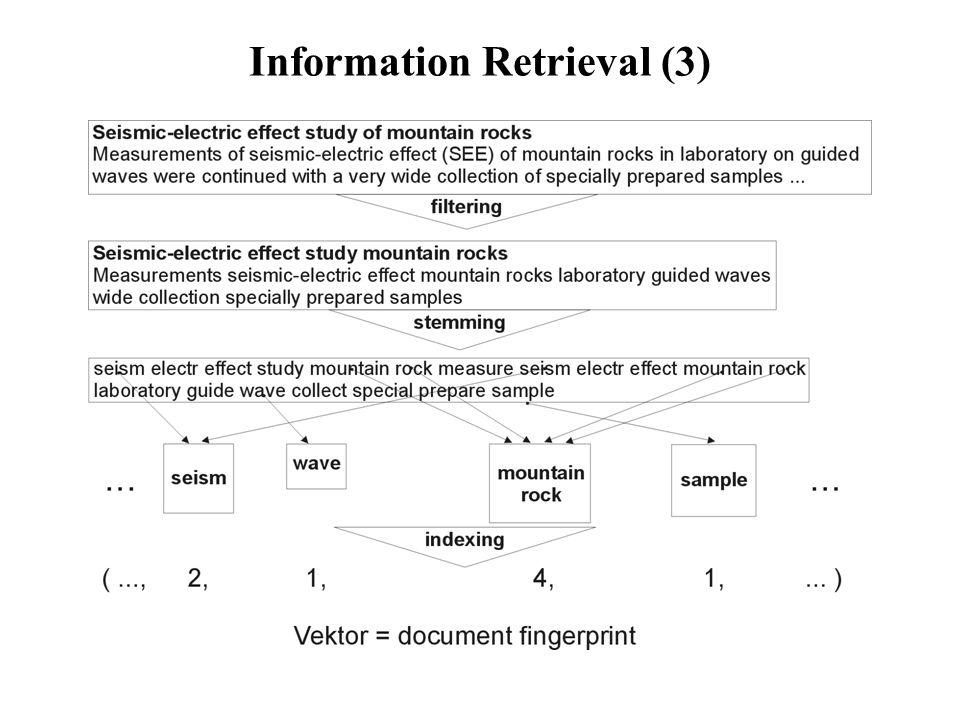 Information Retrieval (4) zu 2.