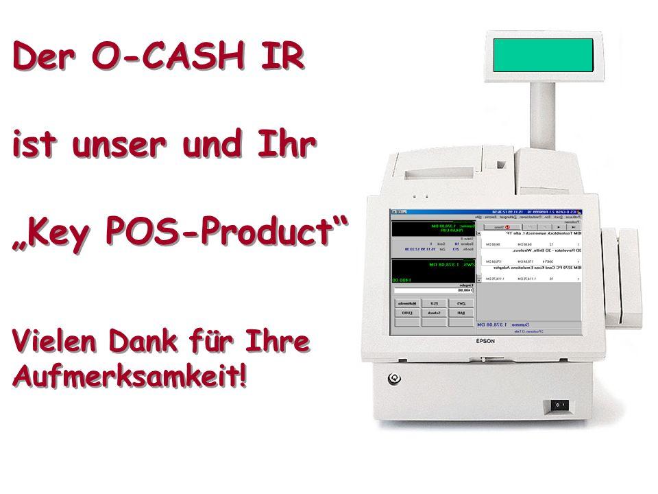 O-CASH und Intelligent Register PräsentationSeite 22 © ZIMMER & PARTNER mit freundlicher Unterstützung EPSON IDS ZIMMER & PARTNER Tradition und Innova