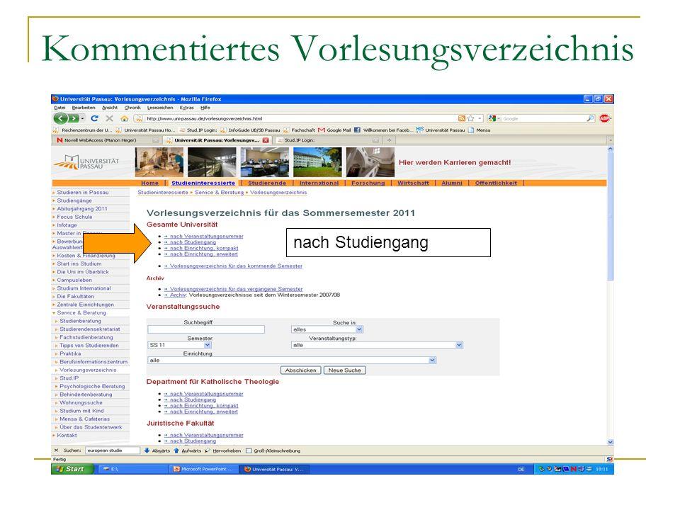 Gliederung nach Modulgruppen und Basis-/Prüfungsmodulen z.