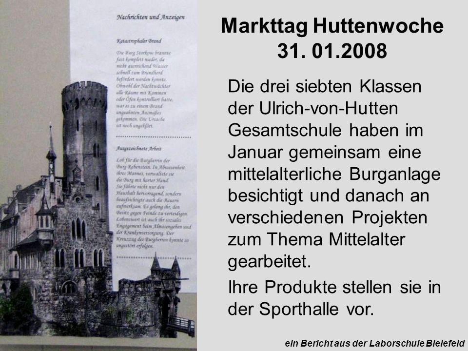 Markttag Huttenwoche 31.
