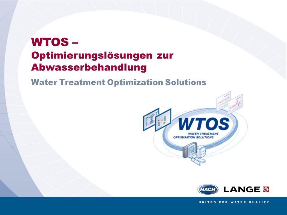 AMERICAN SIGMA BÜHLER MONTEC CONTRONIC HACH LANGE POLYMETRON RADIOMETER ANALYTICAL 1 WTOS – Optimierungslösungen zur Abwasserbehandlung Water Treatmen