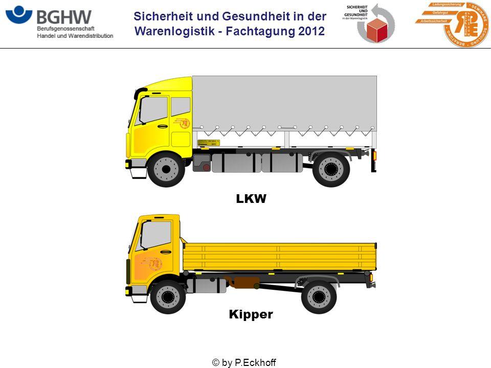 Sicherheit und Gesundheit in der Warenlogistik - Fachtagung 2012 © by P.Eckhoff LKW Kipper