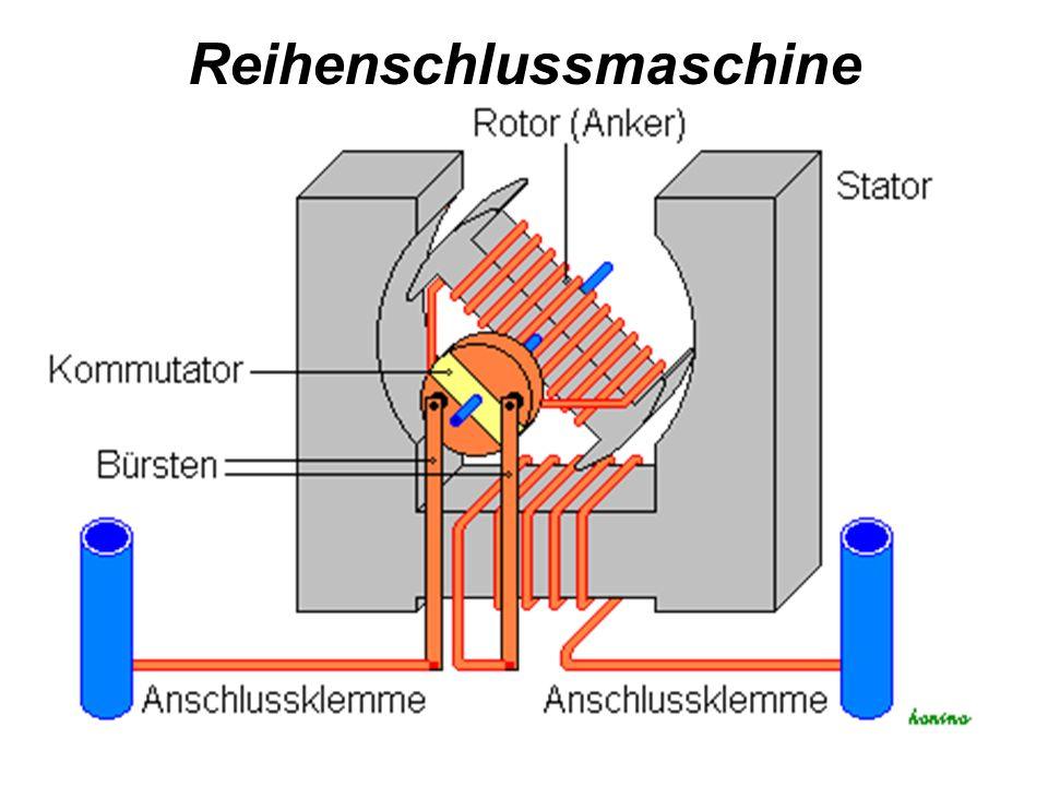 Reihenschlussmaschine
