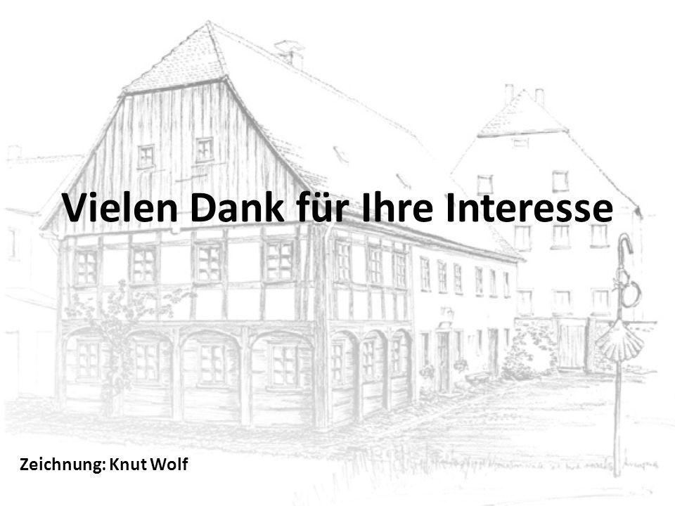 Vielen Dank für Ihre Interesse Zeichnung: Knut Wolf