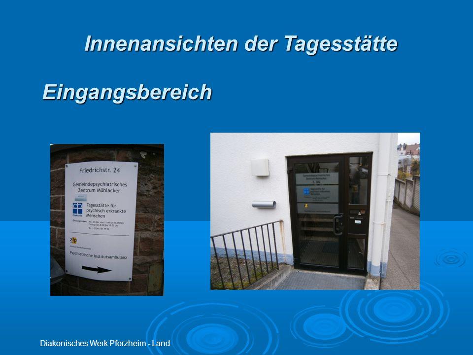 Innenansichten der Tagesstätte Diakonisches Werk Pforzheim - Land Eingangsbereich