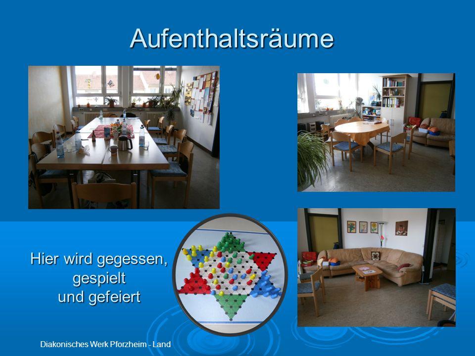 Aufenthaltsräume Diakonisches Werk Pforzheim - Land Hier wird gegessen, gespielt und gefeiert