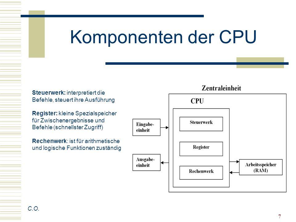 18 Programmiert wird der Zyklus … C.O.… mit einem Befehl als Ganzes, und nicht die einzelne Phase.