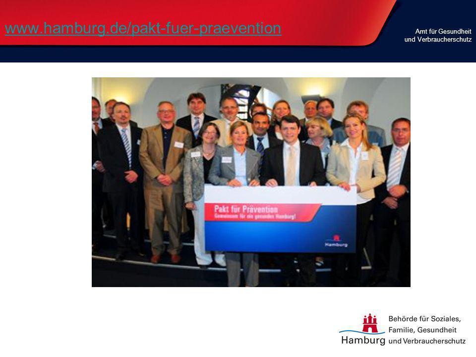 www.hamburg.de/pakt-fuer-praevention Amt für Gesundheit und Verbraucherschutz