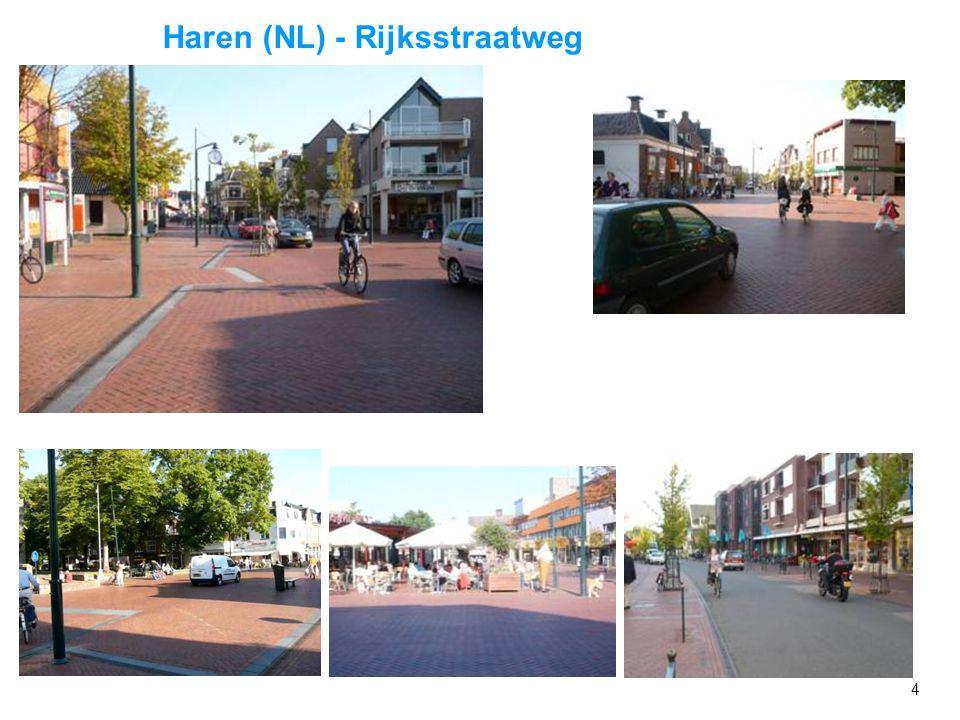 3 Frei übersetzt: Raum für Alle Ziel: - Rückgewinnung des Straßenraumes für Alle - Rücksichtsvolles Miteinander Maßnahme: - Mischverkehrsflächen (Verz