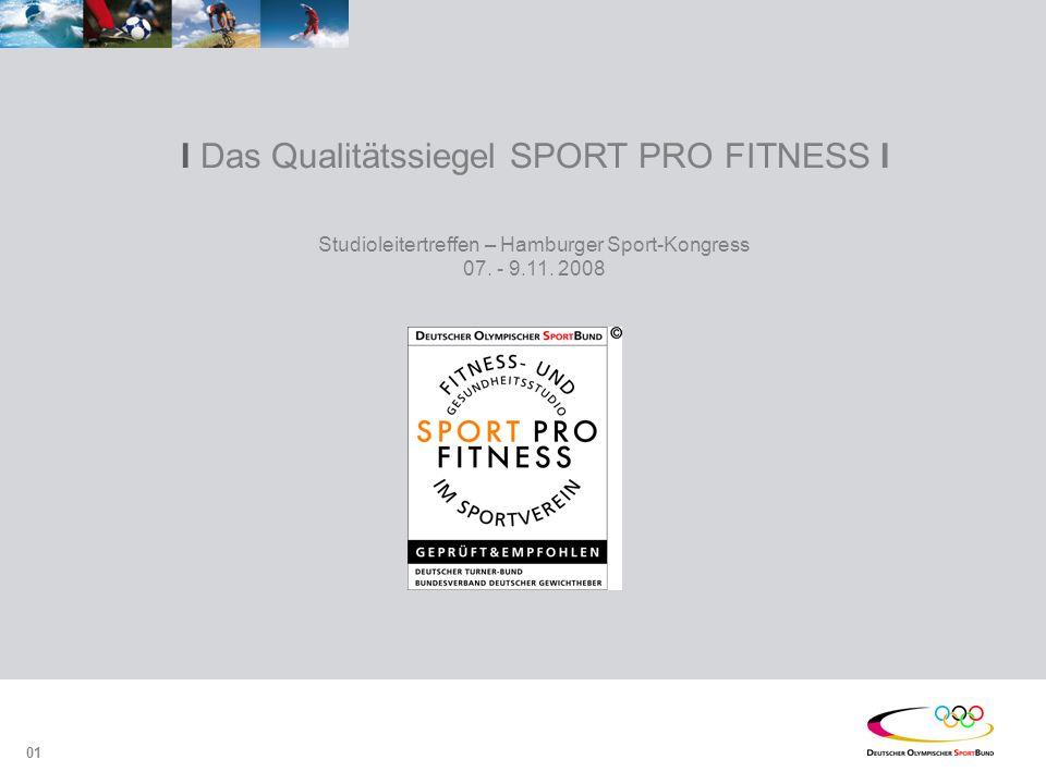 I Das Qualitätssiegel SPORT PRO FITNESS I Studioleitertreffen – Hamburger Sport-Kongress 07.