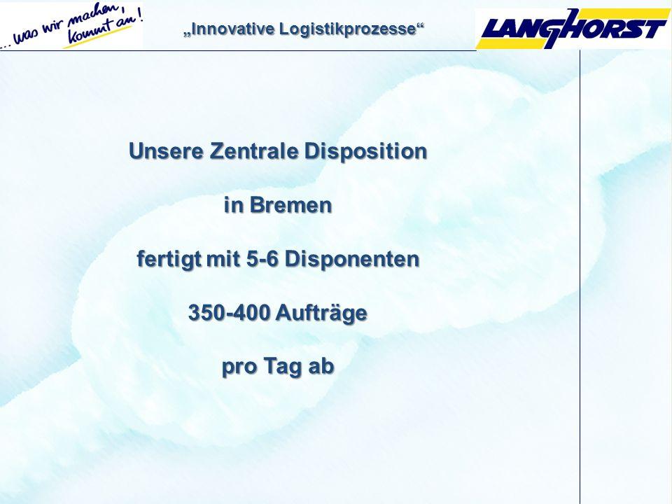 Vorgestellt von: Stephan Eckstein Disponent / Supervisor Export Inland der Firma: Heinrich Langhorst GmbH & Co. KG Ludwig-Erhard Str. 12 28197 Bremen