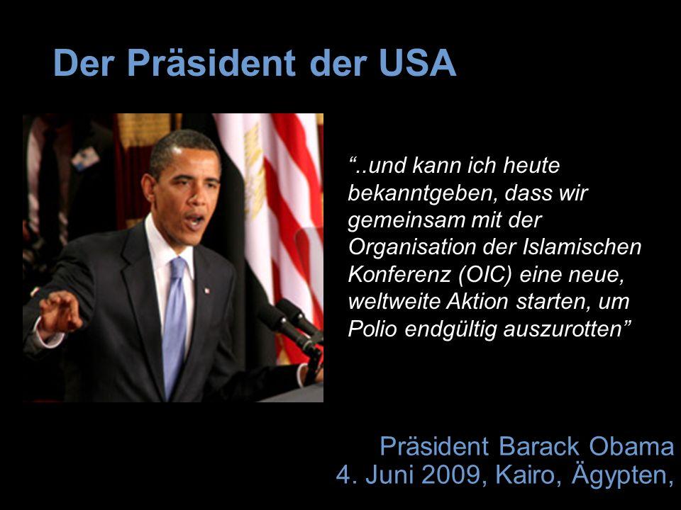 Präsident Barack Obama 4.