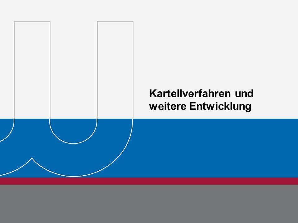 www.bdew.de BDEW Bundesverband der Energie- und Wasserwirtschaft e.V. Kartellverfahren und weitere Entwicklung