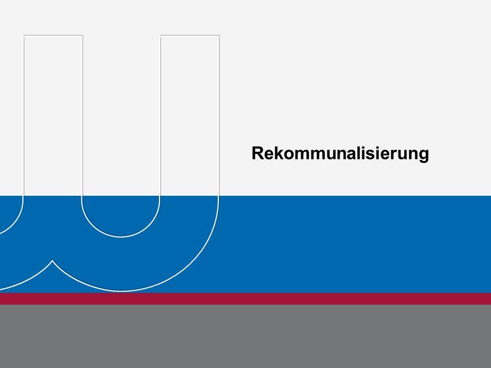 BDEW Bundesverband der Energie- und Wasserwirtschaft e.V. Seite 23 Michael Metternich 15.08.11 Rekommunalisierung Dr. Jörg Rehberg Seite 23