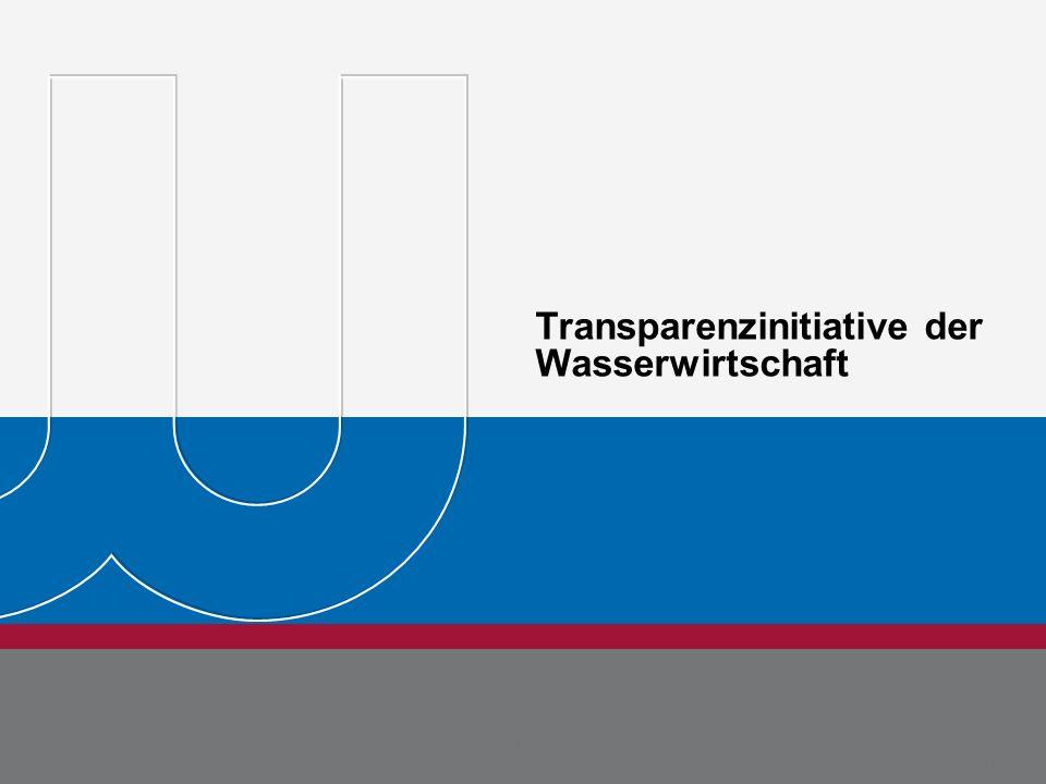 BDEW Bundesverband der Energie- und Wasserwirtschaft e.V. Seite 32 Michael Metternich 15.08.11 Transparenzinitiative der Wasserwirtschaft Dr. Jörg Reh