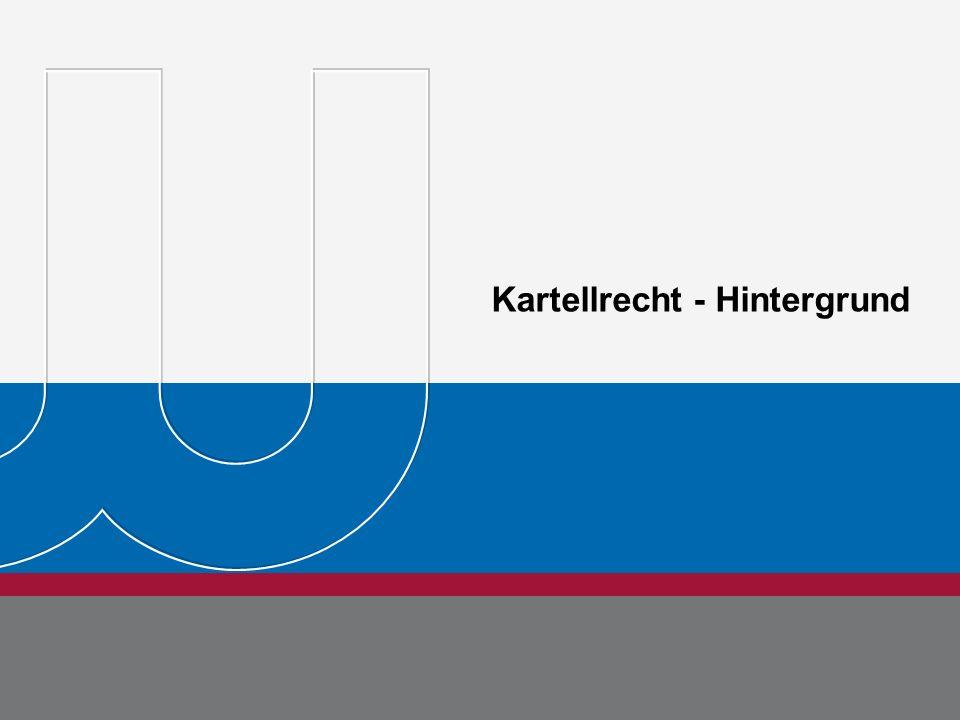 BDEW Bundesverband der Energie- und Wasserwirtschaft e.V. Seite 6 Michael Metternich 15.08.11 Kartellrecht - Hintergrund Dr. Jörg Rehberg Seite 6