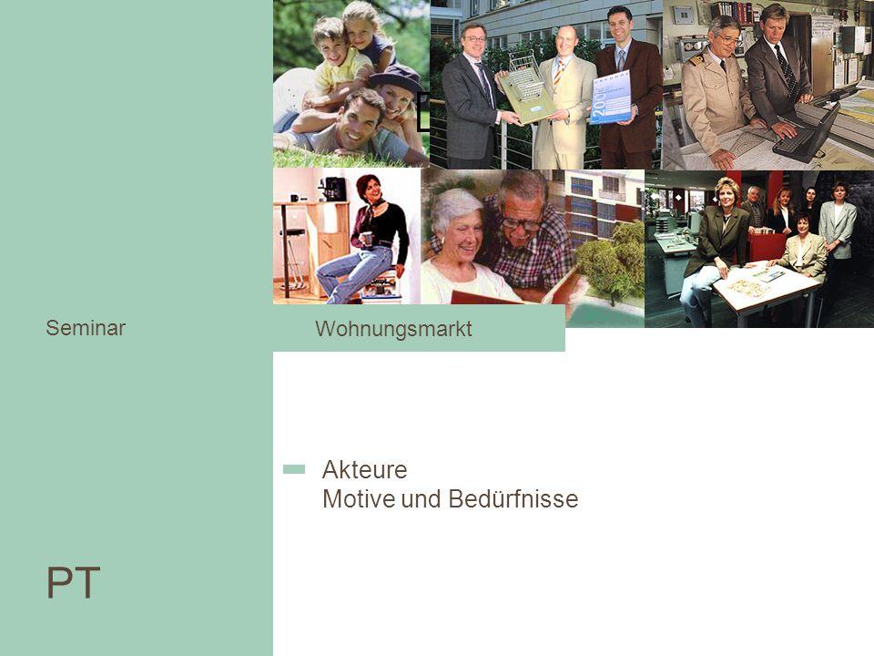 PT Seminar Akteure Motive und Bedürfnisse Wohnungsmarkt