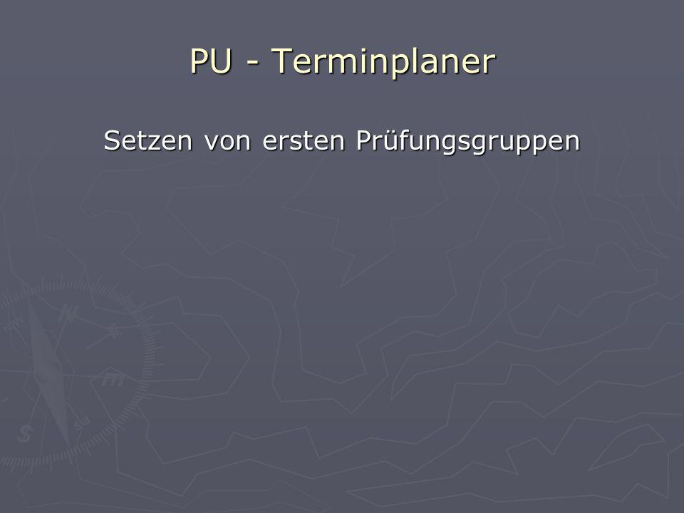 PU - Terminplaner Einrichten des Planers Rio2_Datenexport