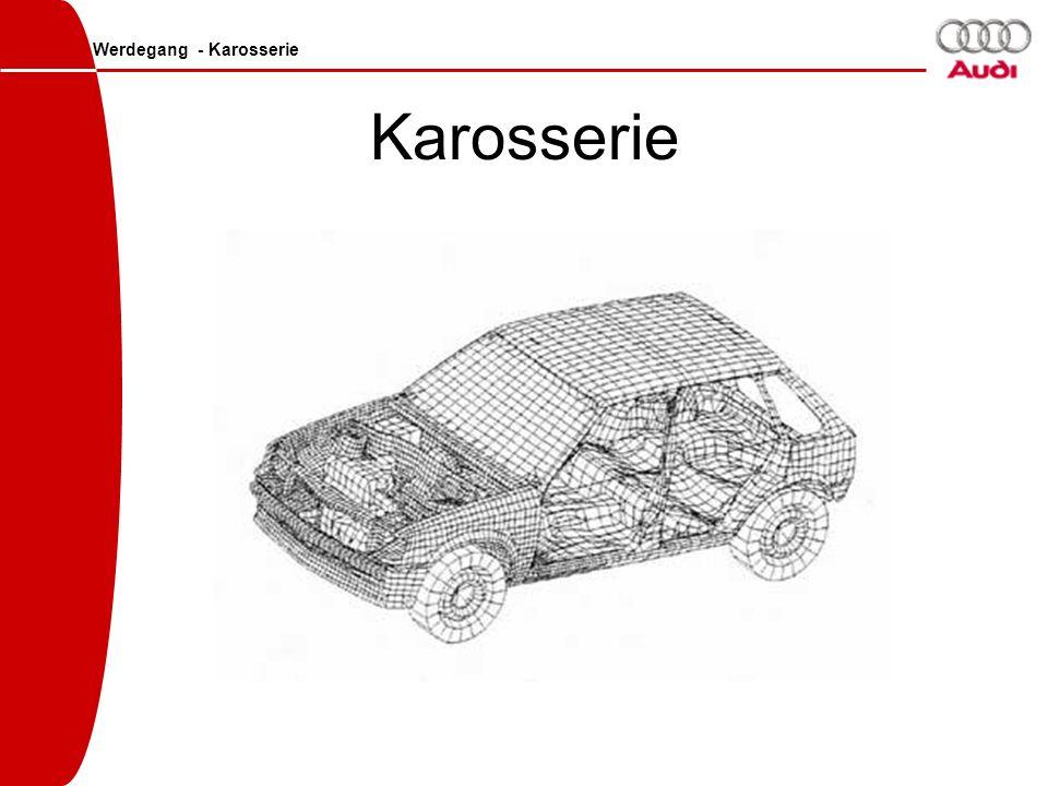 Karosserie Werdegang - Karosserie