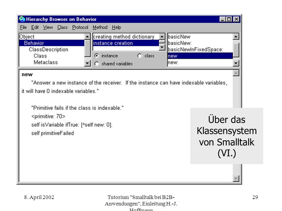 8. April 2002Tutorium