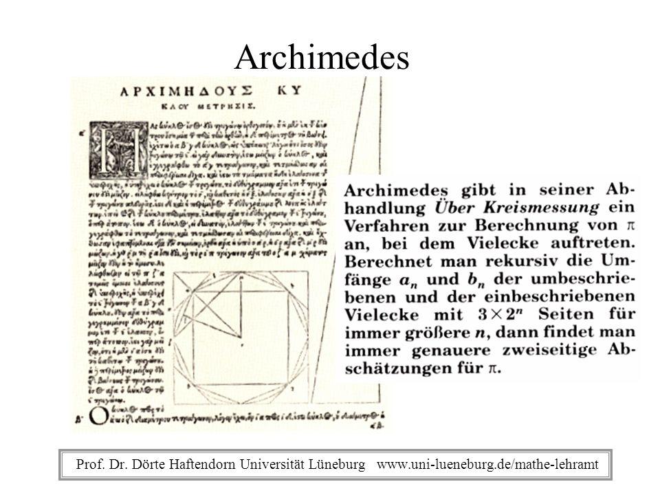 Prof. Dr. Dörte Haftendorn Universität Lüneburg www.uni-lueneburg.de/mathe-lehramt - Gedicht