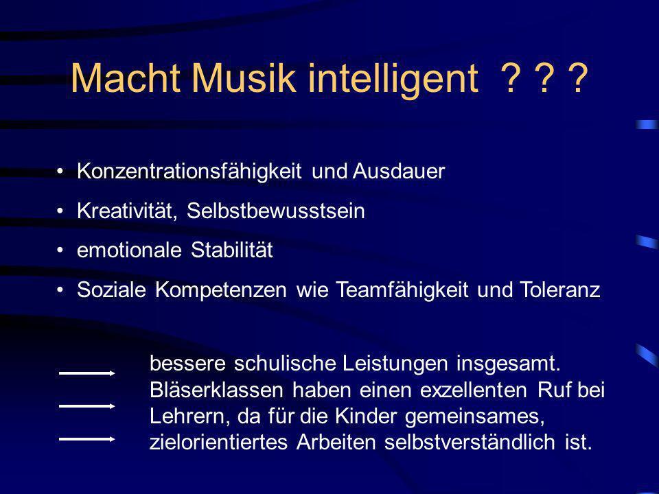 Macht Musik intelligent .