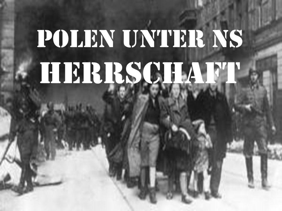 Inhalt Überfall auf Polen Generalgouvernement Gewinnung von Lebensraum Warschauer Ghetto Holocaust in Polen Polnischer Widerstand und Warschauer Aufstand
