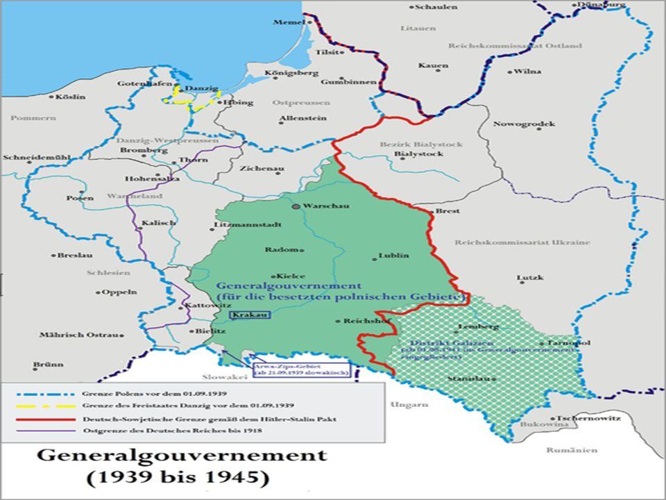Gewinnung von Lebensraum - Annektierung von Gebieten zur Gewinnung von Lebensraum für das deutsche Volk.